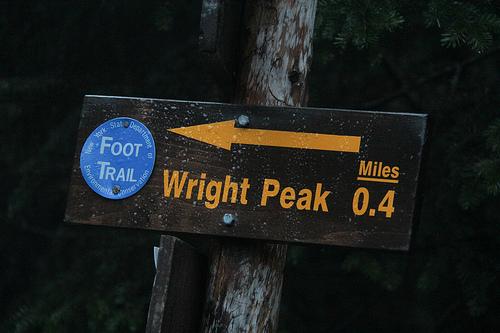 Peak # 1- Wright Peak 5/25/12