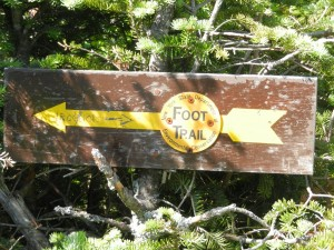 iroquois trail marker